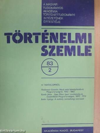 Történelmi Szemle 1983/2.