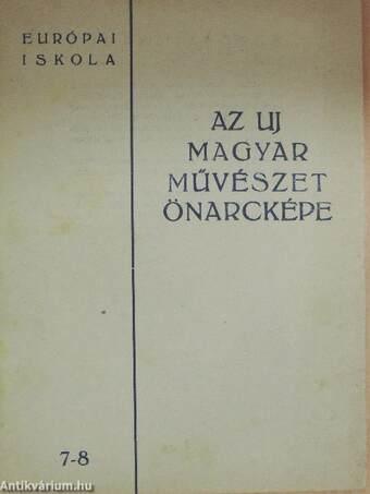 Az uj magyar művészet önarcképe