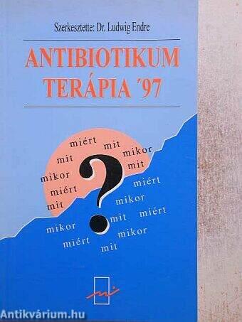Antibiotikum terápia prosztatitis Hasznos gyógynövények prosztatitisekkel