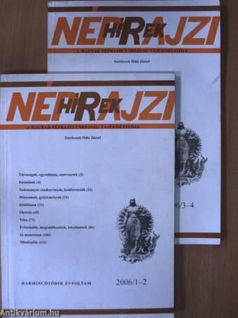 Néprajzi Hírek 2006/1-4.