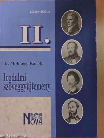 Irodalmi szöveggyűjtemény II.