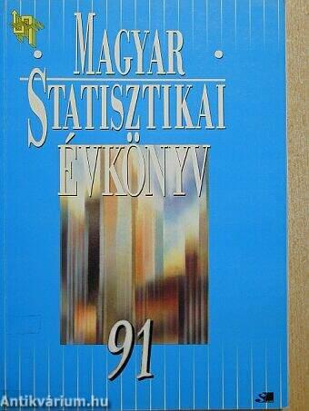 Magyar statisztikai évkönyv 1991