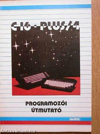 C 16, PLUS/4 programozói útmutató