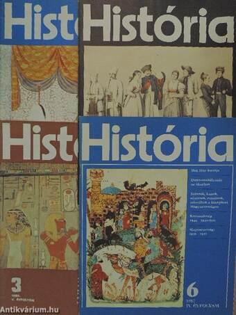 História 1982. (nem teljes évfolyam)