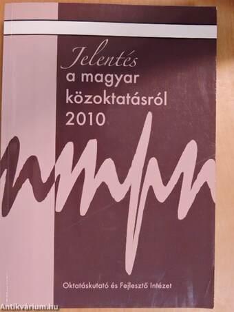 Jelentés a magyar közoktatásról 2010