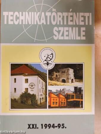 Technikatörténeti Szemle 1994-95/XXI.
