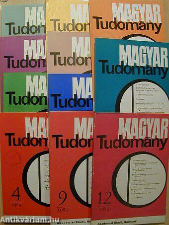 Magyar Tudomány 1983. január-december