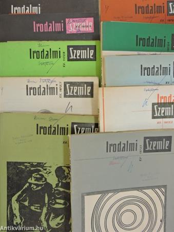 Irodalmi Szemle 1972/1-10.