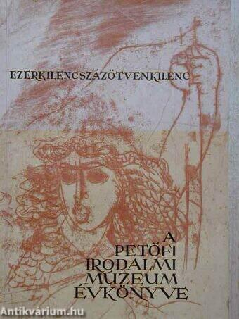 A Petőfi Irodalmi Múzeum évkönyve 1959