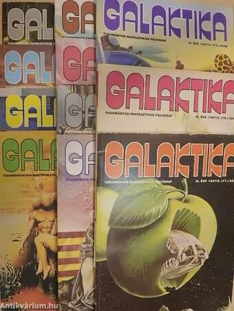 Galaktika 77-87. (nem teljes évfolyam)