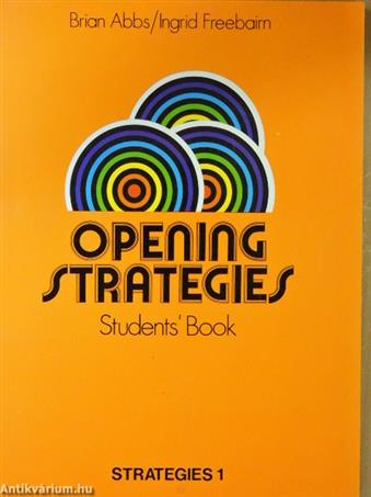 Opening Strategies - Students' Book