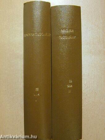 Magyar Tudomány 1994. január-december I-II.