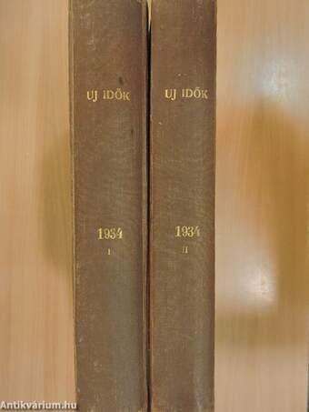 Uj Idők 1934. (nem teljes évfolyam) I-II.