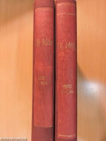 Uj Idők 1937. (nem teljes évfolyam) I-II.