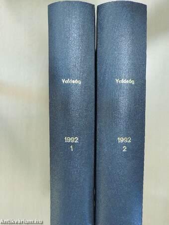 Valóság 1992. január- december I-II.