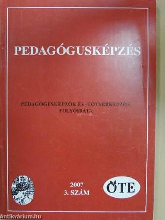 Pedagógusképzés 2007/3.
