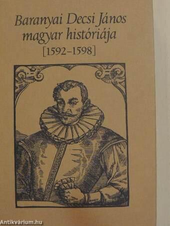 Baranyai Decsi János magyar históriája