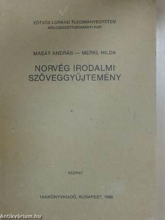 Norvég irodalmi szöveggyűjtemény