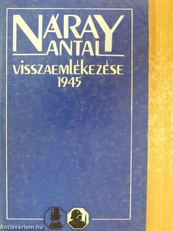 Náray Antal visszaemlékezése