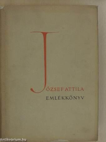 József Attila emlékkönyv