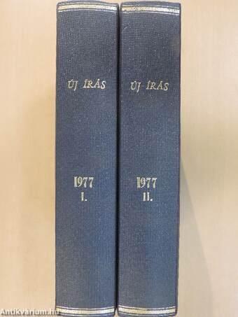 Új Írás 1977. január-december I-II.