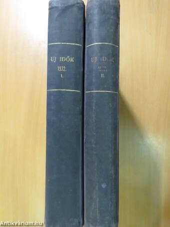Uj Idők 1932. (nem teljes évfolyam) I-II.