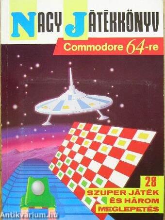 Nagy játékkönyv Commodore 64-re