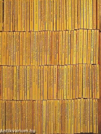 """""""150 kötet az Albatrosz könyvek sorozatból (nem teljes sorozat)"""""""