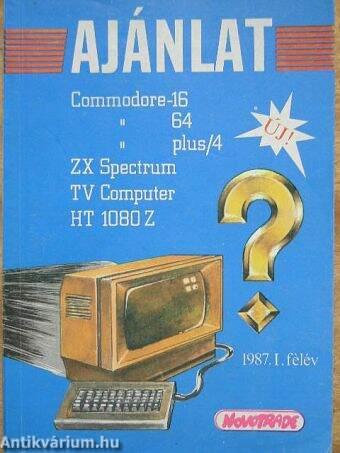 Ajánlat 1987. I. félév