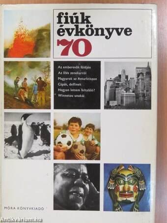 Fiúk Évkönyve 1970