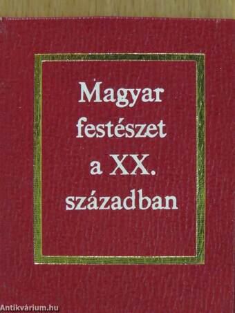 Magyar festészet a XX. században (minikönyv)