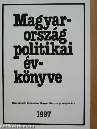 Magyarország politikai évkönyve 1997