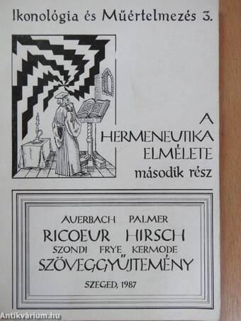 A hermeneutika elmélete II.