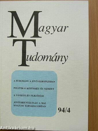 Magyar Tudomány 1994. április