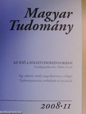 Magyar Tudomány 2008/11.