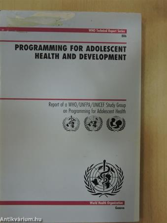 Programming for Adolescent Health and Development