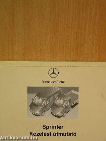 Mercedes sprinter kezelési útmutató