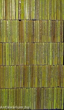 """""""180 kötet az Albatrosz könyvek sorozatból (nem teljes sorozat)"""""""