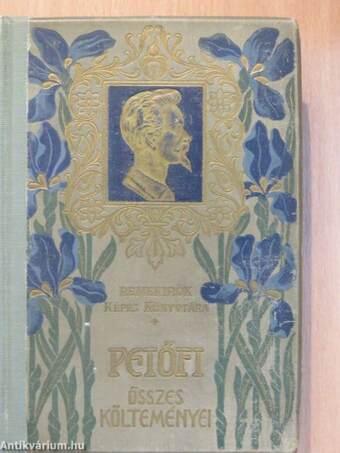 Petőfi Sándor összes költeményei II. (töredék)