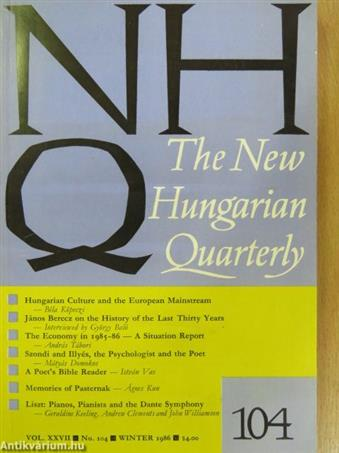 The New Hungarian Quarterly Winter 1986