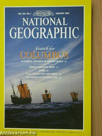 National Geographic January 1992