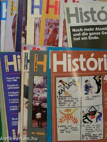 História 1982-2000. (vegyes számok)