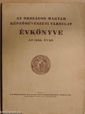 Az Országos Magyar Képzőművészeti Társulat Évkönyve az 1930. évre