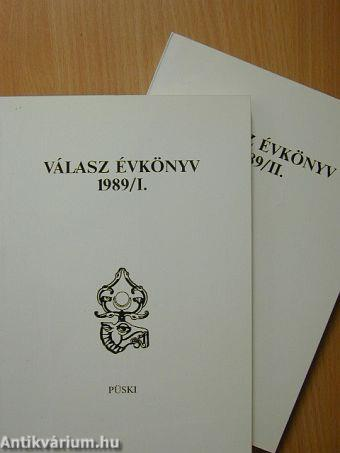 Válasz Évkönyv 1989. I-II.