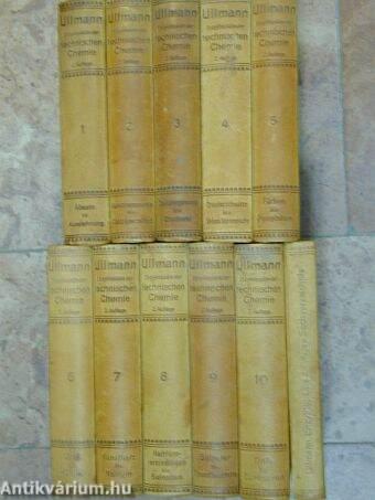 Enzyklopädie der technischen Chemie 1-10./Inhaltsübersicht Gesamt-Sachverzeichnis
