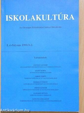 Iskolakultúra 1991/1-2.