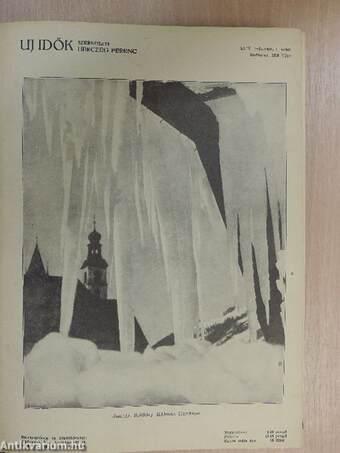 Uj Idők 1936. január-június (fél évfolyam)