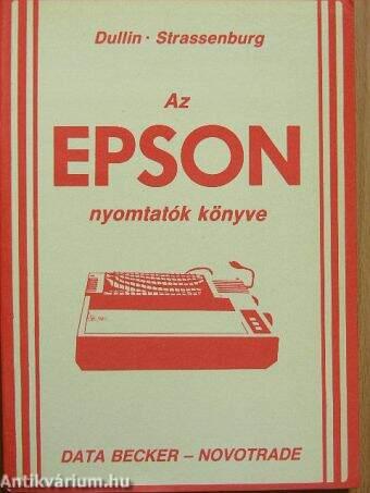 Az Epson nyomtatók könyve