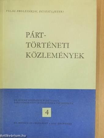 Párttörténeti Közlemények 1969. december