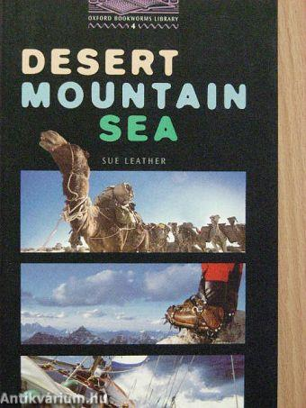 Desert, mountain, sea